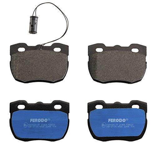 Ferodo FDB520 -  Premier Kit Pastiglie Freno, Freno A Disco - (confezione 4 pezzi)