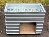 Hochbeet von MSL für die Terrasse und den Balkon, Typ TBH, L/B/H = 120/60/93 cm