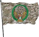 ShiHaiYunBai Flagge/Fahne, Ajman Civil Defence Outdoor Flag Home Garden Flag Banner Breeze Flag USA Flag Decorative Flag 3x5 Ft Flag
