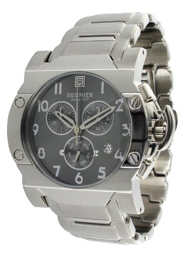 Régnier Dilys R1348 Men's Chronograph Watch 2050422 with Stainless Steel Strap