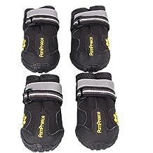 Sannysis Botas para perros Zapatos impermeables para mascotas (S)
