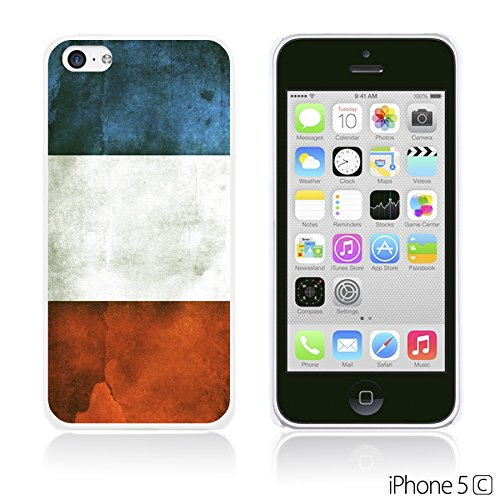 OBiDi - Flag Pattern Hard Back Case / Housse pour Apple iPhone 5C - Germany France