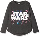STAR WARS 163886, Sweat-Shirt Fille, Gris (Gris), 10 Ans (Taille Fabricant: 10 Ans)