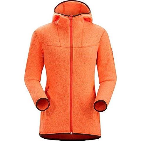 Arcteryx Covert Hoody Womens Andromedae Orange Size Medium
