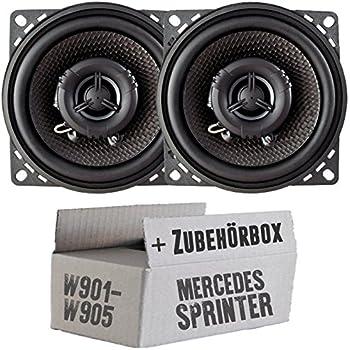 Mercedes-Benz Sprinter Lautsprecher JVC 210Watt Boxen Einbauset Armaturenbrett
