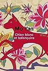 Chien blanc et balançoire par Yan