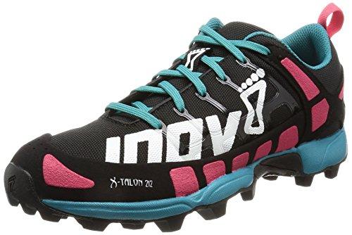 Inov-8 X-Talon 212 (W),Women's Trail Running Shoes,Multicolor(Black/Pink/Teal),6 UK(39.5 EU)