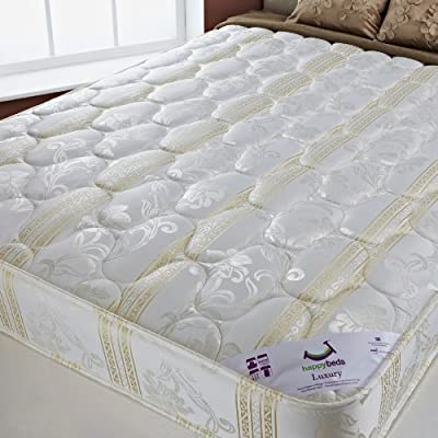 Luxury 4.6ft Double Size Mattress produced by Happy Beds - quick delivery from UK.