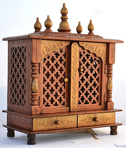Buy Jodhpur Handicrafts Home Temple/ Wooden Temple/ Pooja Mandir/ Mandap/  Temple For Home Online At Low Prices In India   Amazon.in