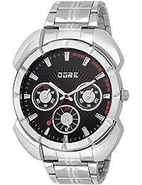 OGRE Analog Black Dial Men's Watch - GY-004 Black