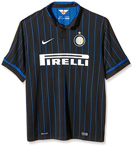 Nike 2014–2015Inter Milan Home Football Shirt XL Black - Black/royal Blue/Football White