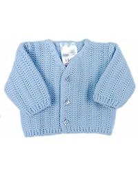6fec659c84e8 Amazon.co.uk  Blue - Knitwear   Baby Girls 0-24m  Clothing