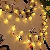 Catena Luminosa Esterno 15 metri di Luci Led Decorative Filo Rinforzato 100 Bulbi Antipioggia Effetto Goccia Attacco Corrente 220v Ideali per Feste Natale Decorazioni Interno Esterno Casa o Giardino