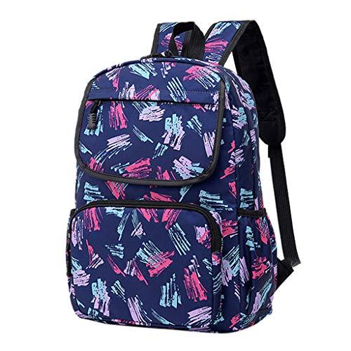 CryLee Damen Herren Notebook, Anti-Theft Tasche Daypack Mode Rucksack Frauen, Wasserabweisend Schulrucksack Mädchen Teenager Schulranzen