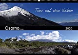 Tanz auf dem Vulkan - Osorno (Chile) (Wandkalender 2020 DIN A2 quer): Der chilenische Vulkan Osorno mit seinen umgebenen Wasserfällen, Seen und ... (Monatskalender, 14 Seiten ) (CALVENDO Natur) -