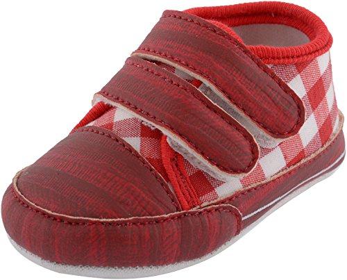TOGO Infant Soft Shoe (SP9_2, Red, 0-3 months)