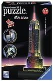 Empire State Building bei Nacht: Erleben Sie Puzzeln in der 3. Dimension!