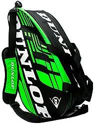 Paletero de pádel Dunlop Play Verde 2016