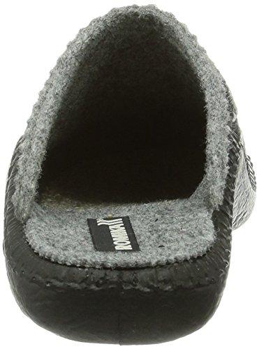 Romika Mokasso 105 Unisex-Kinder Pantoffeln Grau (grau-kombi 704)