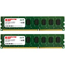 Komputerbay 8GB (2x 4GB) DDR3 DIMM (240 contactos) 1333Mhz PC3-10600/PC3-10666 9-9-9-25 1.5v