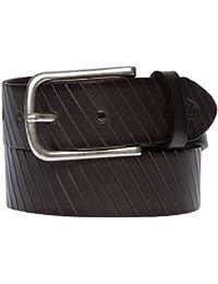 ROY ROBSON Cinturón de cuero Fabricado en Alemania Hombre