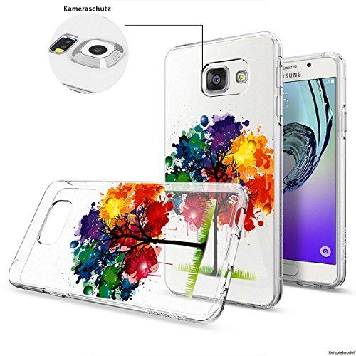 Motivo Serie 1 Custodia Rigida Iphone - Primo caffè, Samsung Galaxy S6 Edge Multicolore Albero