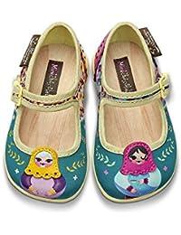 Amazon Para NiñaY esMulticolor Zapatos Bailarinas 543ARLj