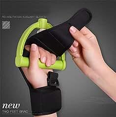 Asistente de rehabilitación guante fijo mano agarre dedos fuerza viejo movimiento hemiplegia rehabilitación equipo de entrenamiento