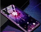 Monfs Home Huawei p30 Handy-Schale p30pro weibliche Modelle Flut hochwertige Glasspiegel Limited Edition p30 Neue Silikon-All-Inclusive-Splitter-resistente Sets pro Mädchen Modelle ultradünne Lanyard