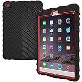 Gumdrop Cases iPad Mini 3 Protective Case - Drop Tech Series, Black/Red (DT-IPADMINI3-BLK_RED)