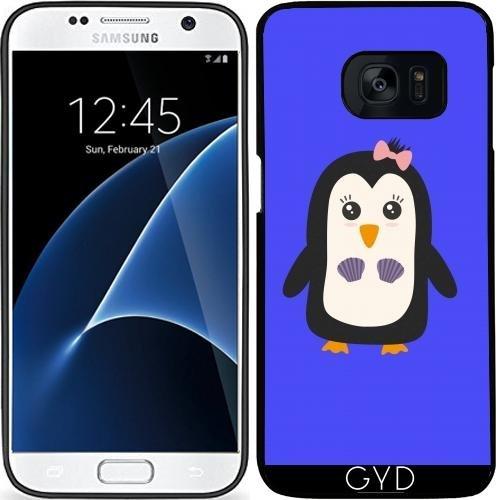 Custodia in silicone per Samsung Galaxy S7 (SM-G930) - Pinguino Con Il Bikini by ilovecotton