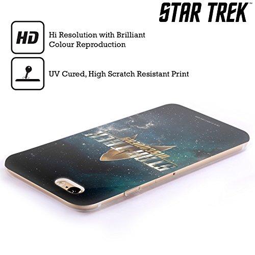 Officiel Star Trek Delta Discovery Logo Étui Coque en Gel molle pour Apple iPhone 5c Avec Blindage
