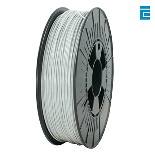 ICE Filaments ICEFIL1PLA190 PLA filament, 1.75mm, 0.75 kg, Galvanized Grey