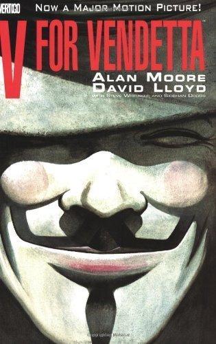 V for Vendetta 1st (first) Edition by Moore, Alan, Lloyd, David published by Vertigo (1995)