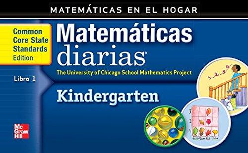 Grade K: Mathematics at Home Book 1/Matemáticas En El Hogar, Libro 1 (Everyday Math) por Max Bell