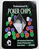 New York Geschenk in Professionelle Poker Chips Set