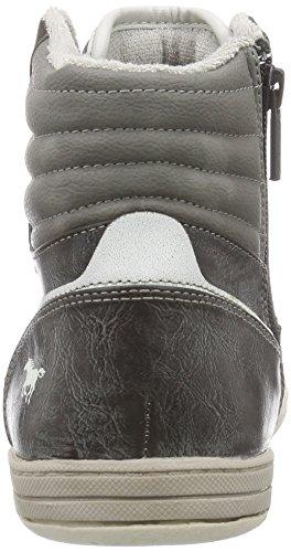 Mustang Herren Hohe Sneakers Grau (2 grau)