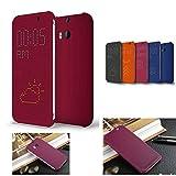 JOYOOO Dot View Case Hülle für HTC One M8 HC m100
