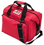 AO Coolers Deluxe Canvas Soft Cooler with High-Density Insulation, Red, 12-Can - Best Reviews Guide