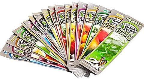 Blunt Wraps Double Platinum–18Packungen in 18Geschmacksrichtungen–kein Geschmack wiederholt–Verkauft von Trendz
