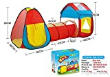 Best Outdoor Toys For Little Kids - TEMSON Dome and Tunnel Play Tent Set Review