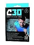 C30 Sport Tabs Disinfettante Elimina Odori per saldatura, Batteri, germi odori–Igiene antibatterico detersivo per bucato, Nero/Blu, 12