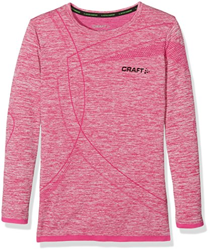 Craft Kinder Active Comfort RN LS Junior, Cross-Country / Running Mixed Kind, B403 Smoothie - rosa - DE :122/128 (Taille Fabricant : 8 ans)