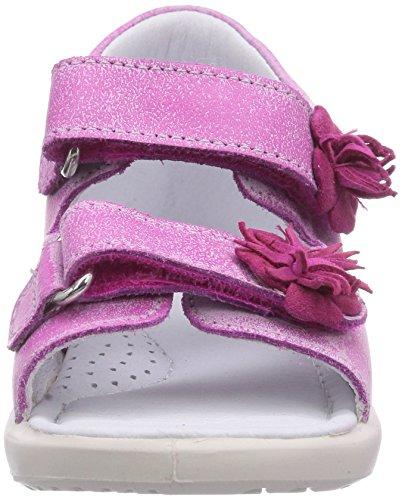 Naturino Falcotto 1397, Sandales premiers pas mixte bébé Rose - Pink (FUXIA)