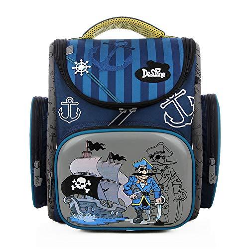 Ergonomischer Schulranzen Jungen 1-4.Klasse,Schulranzen Mädchen,Backpack Schultasche Rucksack,im Kindergarten der Kleine Freund,Mädchen Geschenk