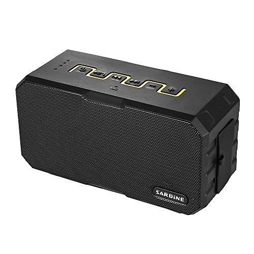 Sardine F5Bluetooth estéreo Hi-Fi altavoz IP67resistente al agua como powerbank Micrófono Audio Auto Reproductor de música MP3altavoz USB TF tarjeta Música Juegos