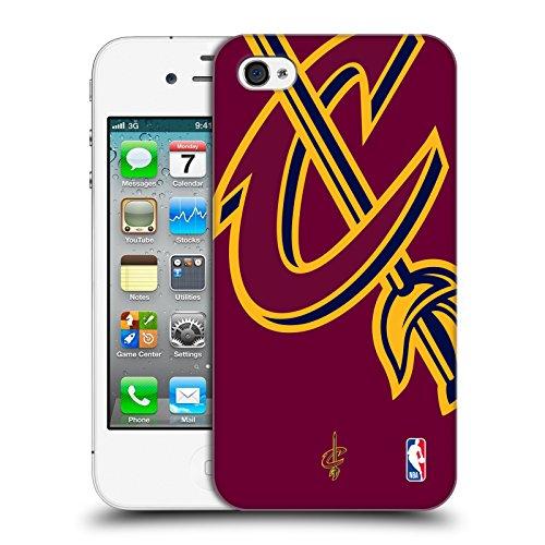 Offizielle NBA S&W Marmor Cleveland Cavaliers Ruckseite Hülle für Apple iPhone 6 / 6s Überdimensionierte Symbol