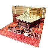 1PC 160fogli adesivi 3D bastone Omoshiroi blocco notes comodo DIY documenti carta artigianale del Giappone creative post note Red House