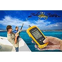Rybyte (TM) tester portatile sonar LCD Fish Finder allarme profondità 100m AP Iure Ice trasduttore esche da pesca attrezzo sportivo yb060-sz - Ice Attrezzi Da Pesca