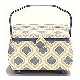 Prym - cesta de costura, azul, 32 x 20,5 x 20 cm